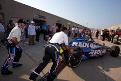 Car of Tomas Scheckter, KV Racing Technology - SH Racing