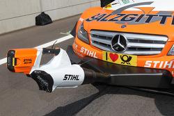Cooling system for Ralf Schumacher, Team HWA AMG Mercedes C-Klasse