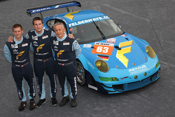 #63 Proton Competition Porsche 911 RSR: Horst Felbermayr Jr., Horst Felbermayr Sr., Christian Ried