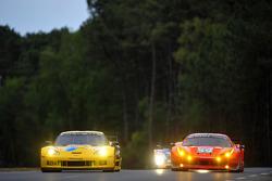 #74 Corvette Racing Chevrolet Corvette C6 ZR1: Oliver Gavin, Jan Magnussen, Richard Westbrook