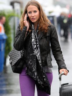 Catherine Hyde, girlfriend of Heikki Kovalainen