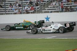 E.J. Viso, KV Racing Technology-Lotus, Paul Tracy, Dragon Racing
