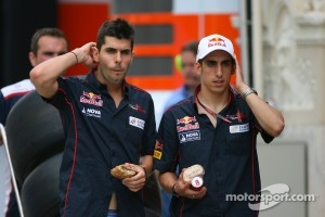Buemi and Alguersuari were ousted by Toro Rosso in 2011