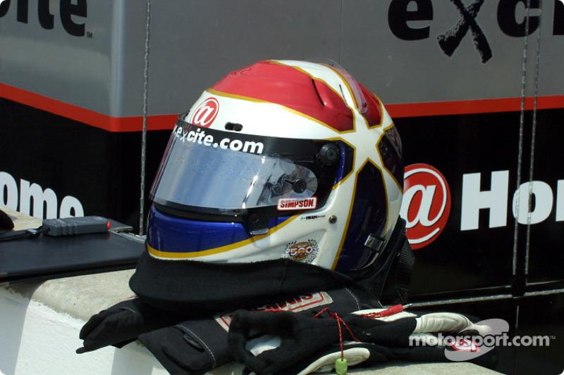 Eddie Cheever Jr. helmet