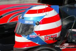 Jon Herb's helmet