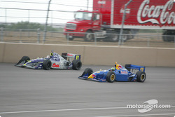 Tomas Scheckter and Buddy Lazier