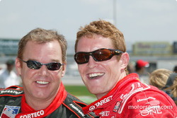 Al Unser Jr. and Scott Dixon