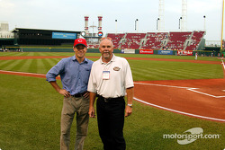 Visit at a Cincinnati Reds baseball game: Scott Sharp