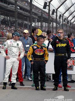Drivers presentation: Airton Daré, Jimmy Kite and Robby McGehee