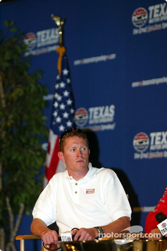 Conférence de presse avec les candidats au titre IRL : Scott Dixon