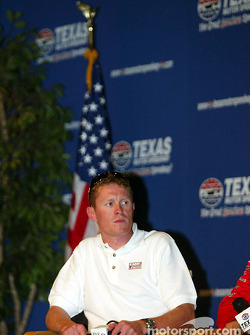 Press conference with IRL title contenders: Scott Dixon