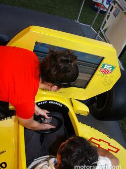 Indy Racing League simulator