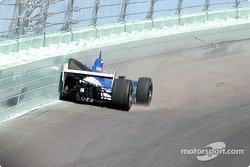 Dario Franchitti in the wall