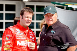 Robby Gordon and A.J. Foyt