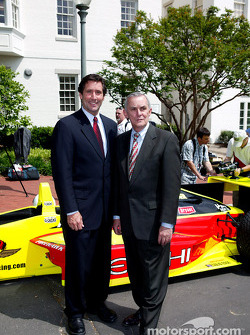 Indianapolis 500 - Washington D.C. visit: IMS President and CEO Tony George