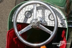 Vintage car on display