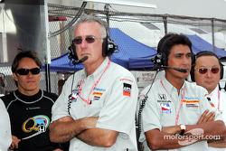 Adrián Fernández, Tom Anderson y Aguri Suzuki