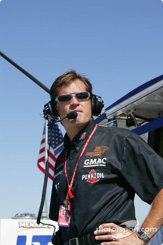 Le co-propriétaire du Panther Racing Doug Boles