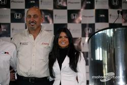 Bobby Rahal and Danica Patrick