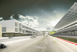 Artist's rendering of the Circuit of the Americas