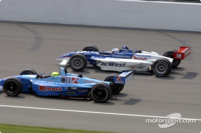 Christian Fittipaldi and Scott Dixon