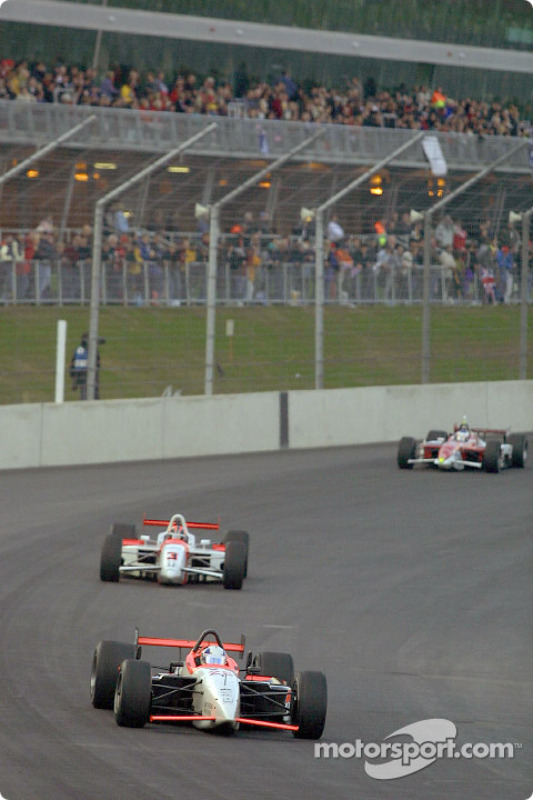 Max Wilson and Helio Castroneves