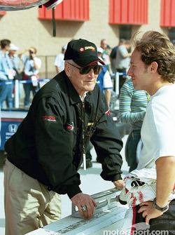 Paul Newman and Cristiano da Matta
