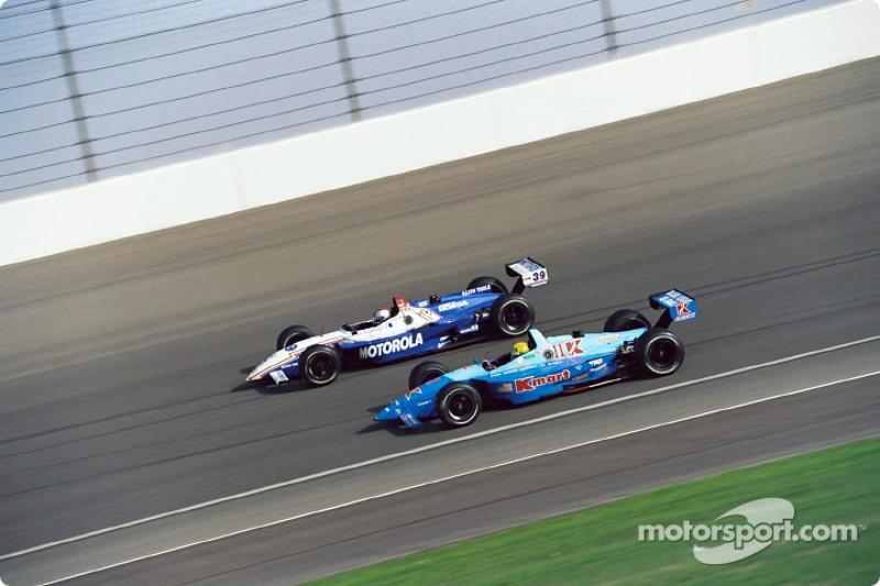 Michael Andretti and Christian Fittipaldi