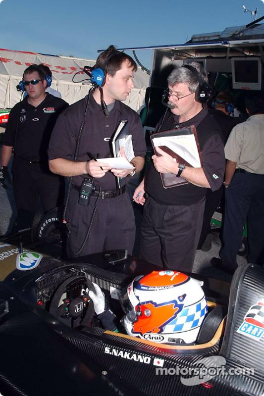 Martin Paré with Don Halliday