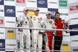 Лэнс Стролл, Prema Powerteam Dallara F312 - Mercedes-Benz; Максимилиан Гюнтер, Prema Powerteam Dallara F312 - Mercedes-Benz; Ник Кэссиди, Prema Powerteam Dallara F312 - Mercedes-Benz