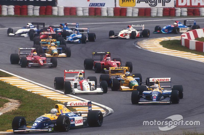 GP Brasilien: Platz 1