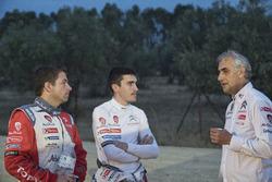 Скотт Мартин, Крейг Брин и Дидье Клеман, Citroën, тесты C3 WRC 2017