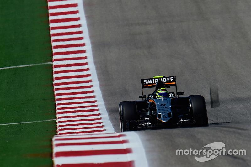 11º Sergio Pérez, Sahara Force India F1 VJM09