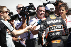 Серхіо Перес, Sahara Force India F1 зі ЗМІ