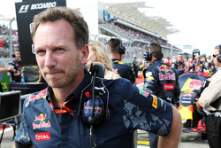 Christian Horner, Red Bull Racing sur la grille
