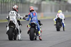 Maverick Viñales, Team Suzuki Ecstar MotoGP, Yonny Hernández, Aspar Racing Team