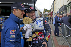 Sébastien Ogier, Volkswagen Polo WRC, Volkswagen Motorsport and Jari-Matti Latvala, Volkswagen Polo WRC, Volkswagen Motorsport