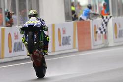 Segundo clasificado Valentino Rossi, Yamaha Factory Racing