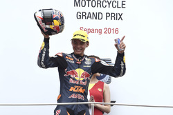 Podium: derde Bo Bendsneyder, Red Bull KTM Ajo