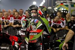 Jonathan Rea, Kawasaki Racing et Tom Sykes, Kawasaki Racing