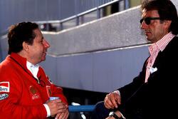 Luca Di Montezemolo et Jean Todt, Ferrari