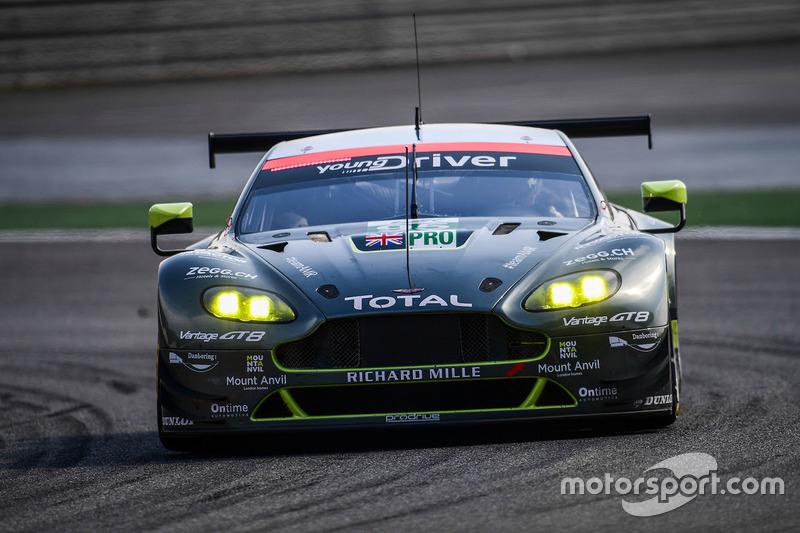 4. LMGTE-Pro: #95 Aston Martin Racing, Aston Martin Vantage GTE