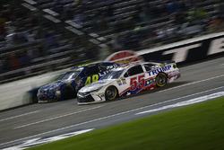 Jimmie Johnson, Hendrick Motorsports Chevrolet, Reed Sorenson, Premium Motorsports Chevrolet