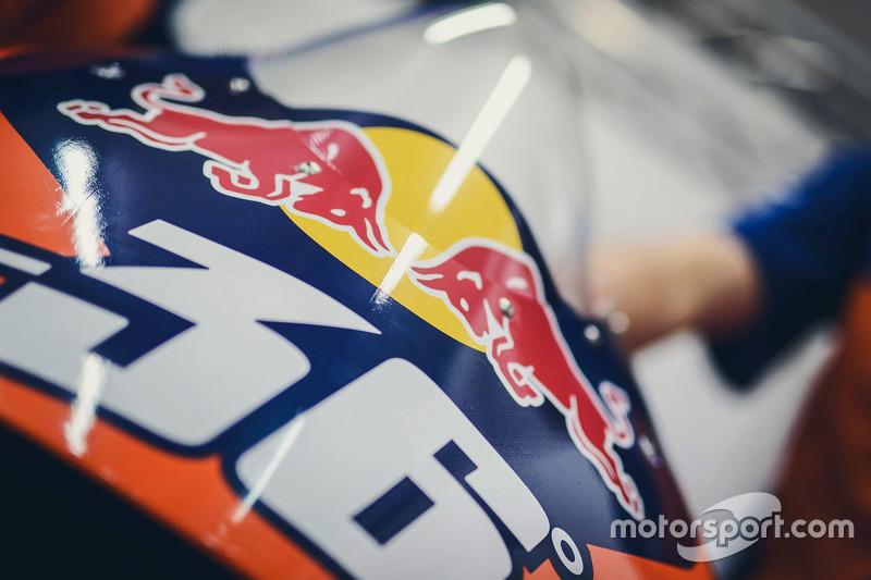 Detalle de freno de Mika Kallio, Red Bull KTM Factory Racing