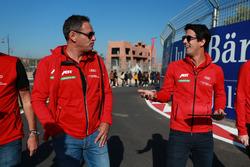 Hans - Jürgen Abt en Lucas di Grassi, ABT Schaeffler Audi Sport