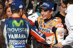 Polesitter Jorge Lorenzo, Yamaha Factory Racing, Marc Marquez, Repsol Honda Team