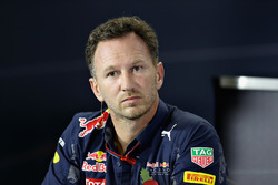 Pressekonferenz: Christian Horner, Red Bull Racing, Teamchef