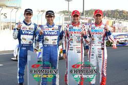 #39 Team Sard Lexus RC F: Heikki Kovalainen, Kohei Hirate, #25 VivaC 86 MC