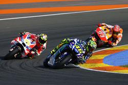 Valentino Rossi, Yamaha Factory Racing, Andrea Iannone, Ducati Team, Marc Marquez, Repsol Honda Team