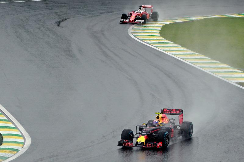 Sebastian Vettel só foi ultrapassado uma vez na pista – por Verstappen no Brasil.